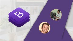 Bootstrap 4 – Create 4 Real World Projects