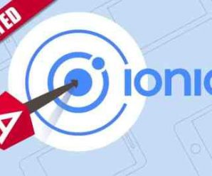 Ionic – Build iOS, Android & Web Apps with Ionic & Angular