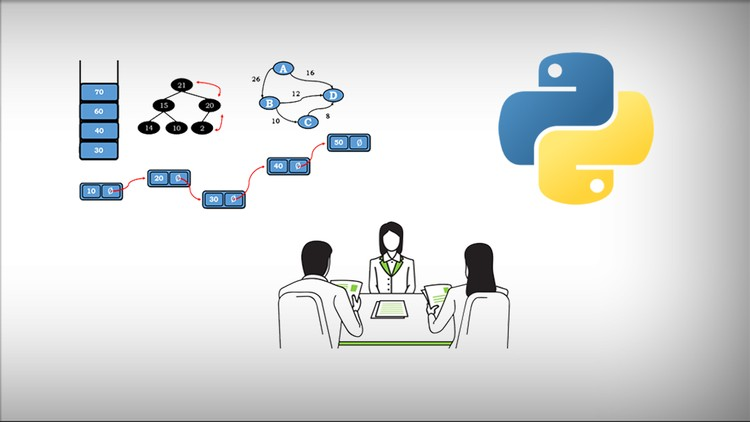 Learning Data Structures & Algorithms in Python from Scratch Udemy free download - ftuudemy.com
