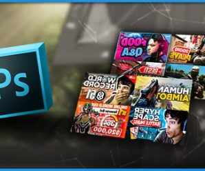 Design Gaming Thumbnails In Photoshop
