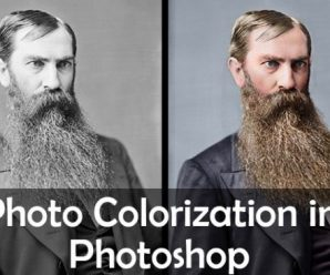 Photo Colorization in Photoshop 2021